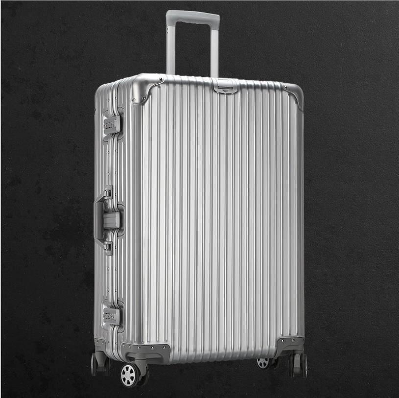 124b97d3152 20 inch FULL REAL Aluminium Anti Theft TSA Lock 360° Wheel Travel Luggage  Bag