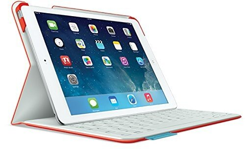 Penjimat Pintar Logitech Fabric Skin Keyboard Folio for iPad
