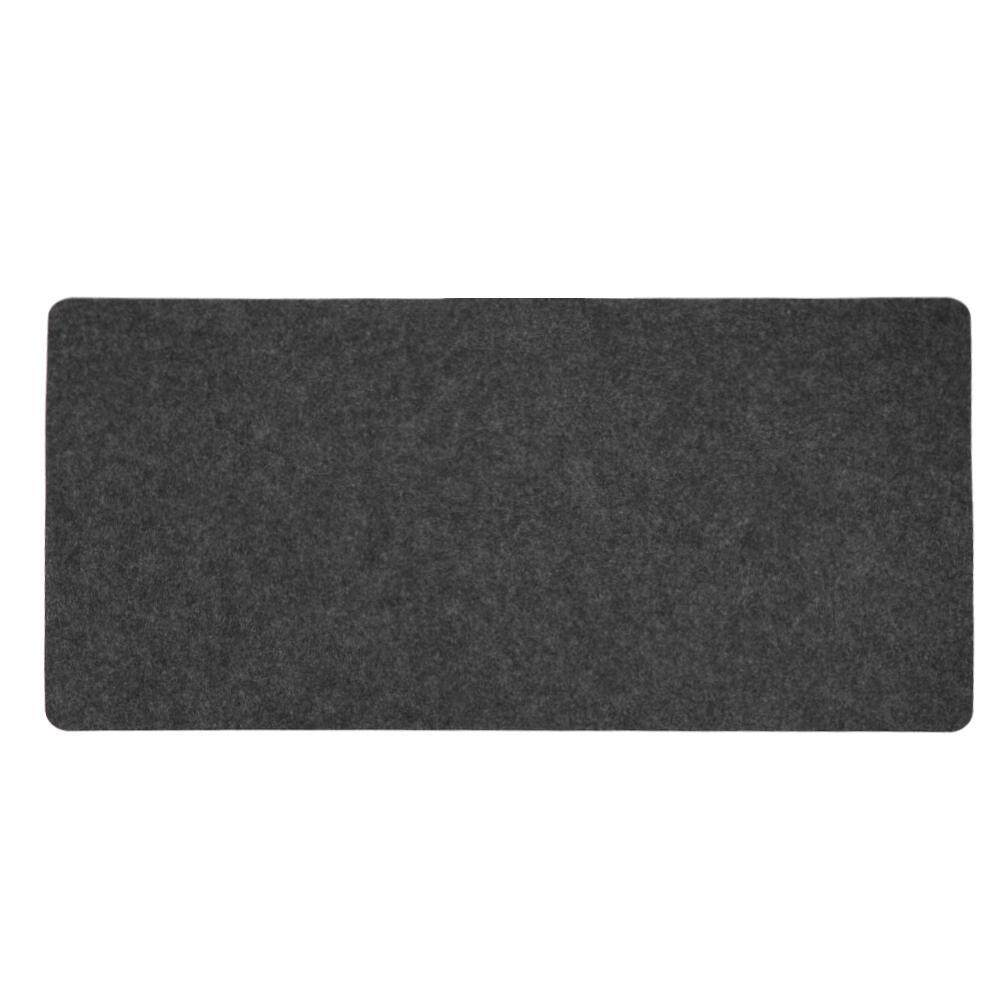 Home Office Computer Desk Mat Modern Table Mouse Pad Wool Felt Laptop Desk Mat Malaysia