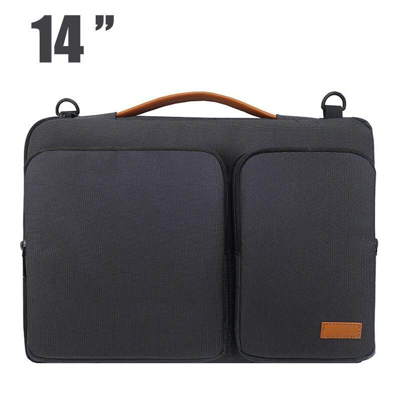 c0c25aa9c9 Portable Notebook Waterproof and Scratchproof Multifunctional Business Laptop  Bag Briefcase with adjustable shoulder strap For Apple