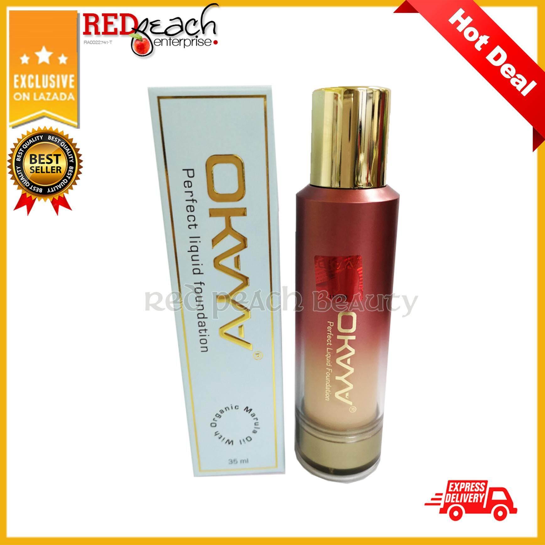 Okaya Face Makeup Foundations Price In Malaysia Best Cream Walet Super Gold Perfect Liquid Foundation Dark 100 Original Hq Hot Sale