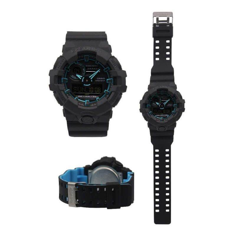 G SHOCK Dual Time Black/Blue Strap MEN WATCH Malaysia