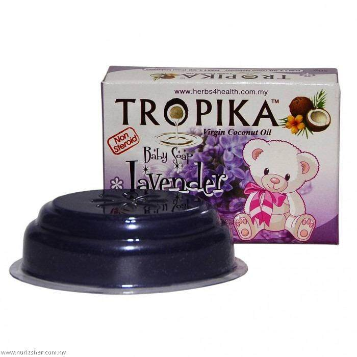 [free Shipping] Original Tropika Baby Soap - Lavender By Baby King.