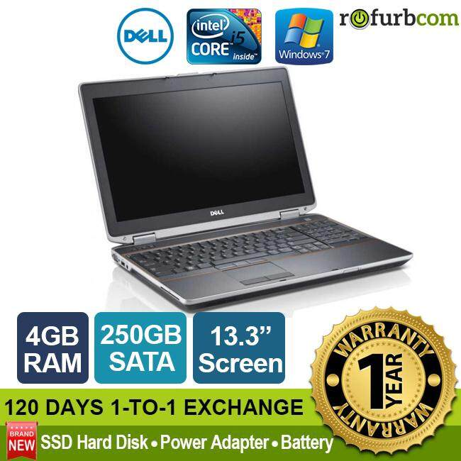 DELL LATITUDE E6320 / INTEL CORE I5 (4GB, 250 SATA) [refurbished] Malaysia
