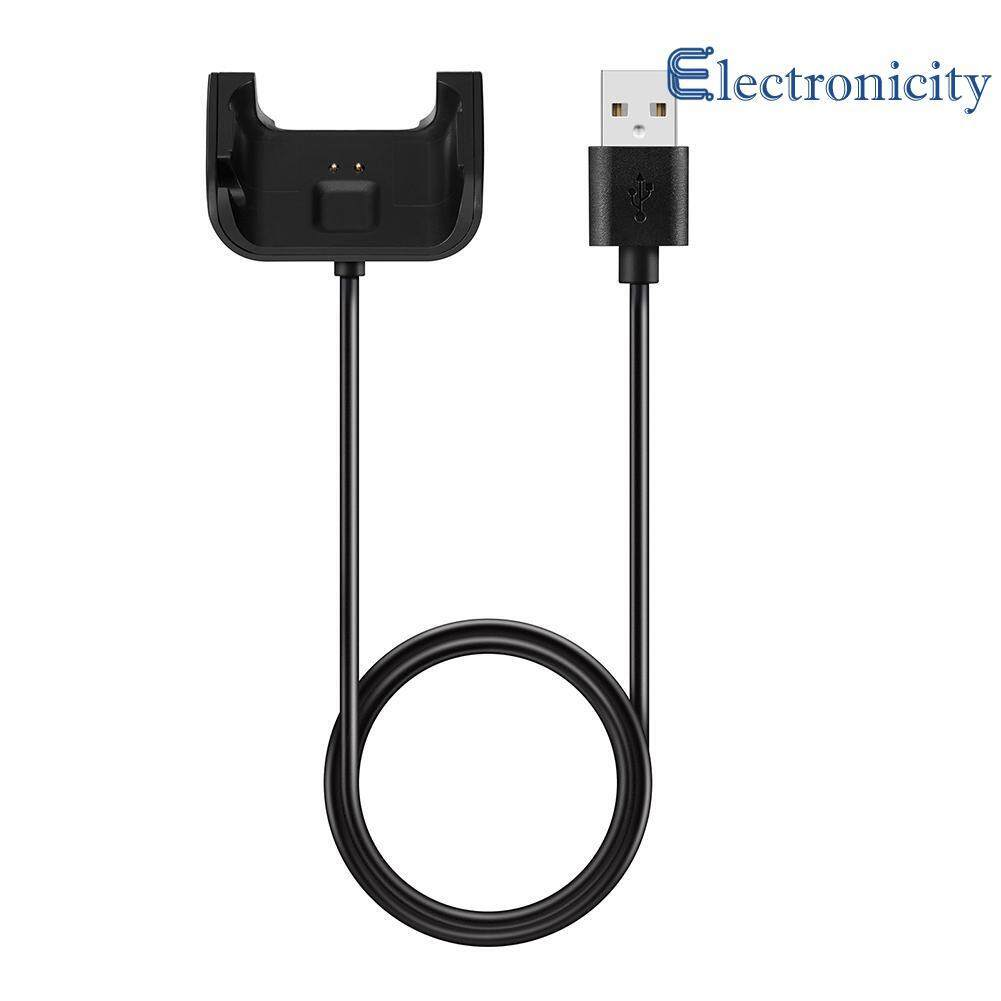 1m 5v300ma Black Charging Data Cable Cradle For Huami Amazfit Smart Watch By Electronicity.