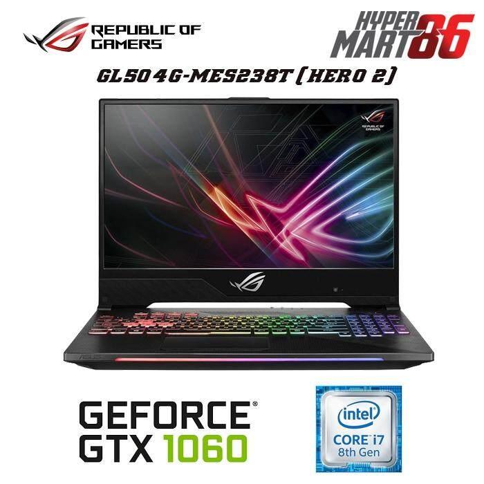 [BLACK OPS]Asus ROG Strix GL504G-MES238T Hero II Edition (15.6inch/Intel i7/8GB/1TB+256GB SSD/GTX1060 6GB) Malaysia