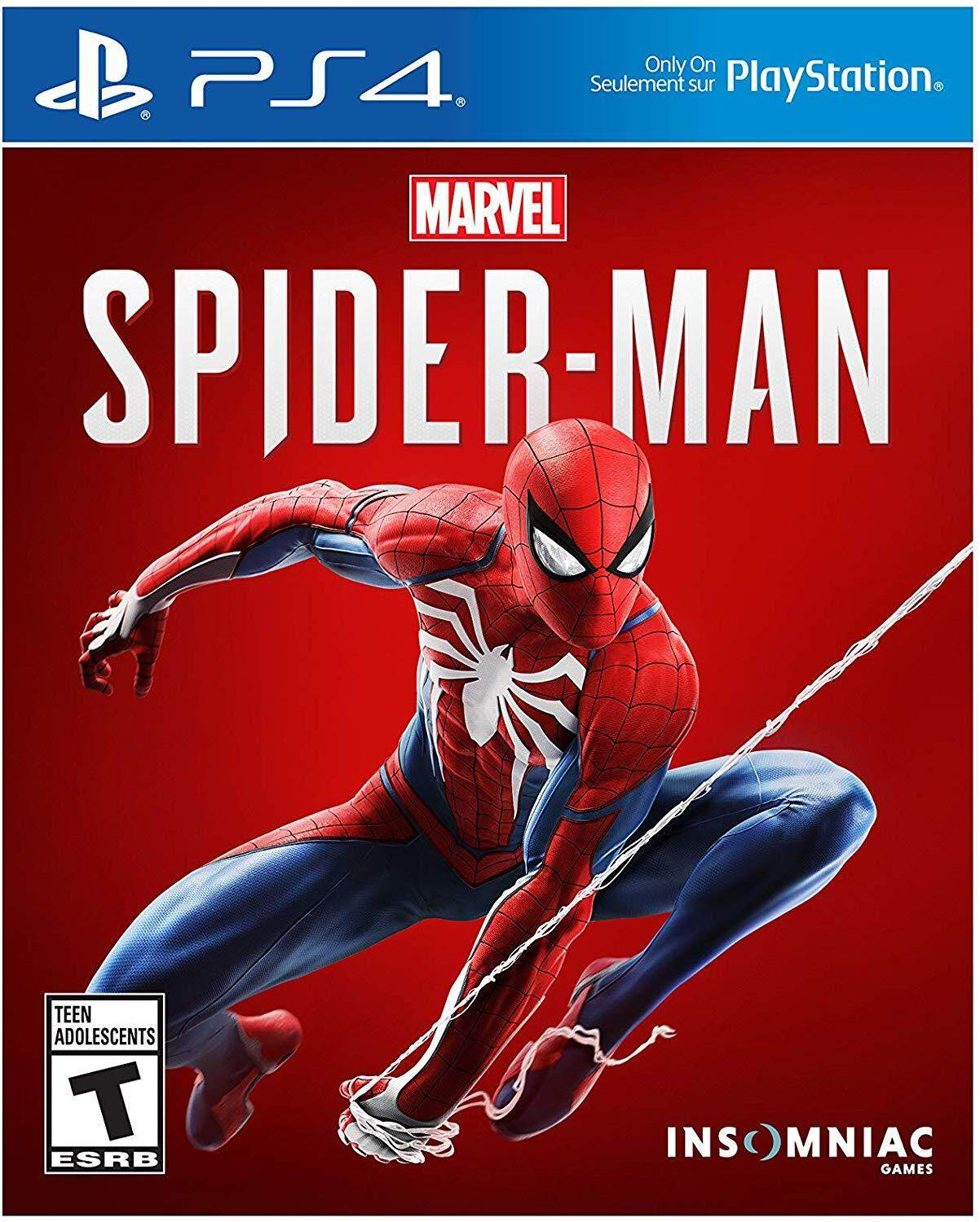 Ps4 Marvel Spiderman(r3)(english/chinese) By My Gameland.