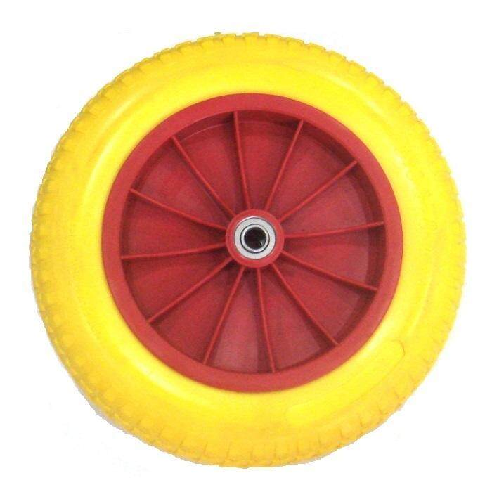 UMBRELLA WHEEL BARROW TYRE 1399 PLASTIC RIM (POLYURETHANE-PU)