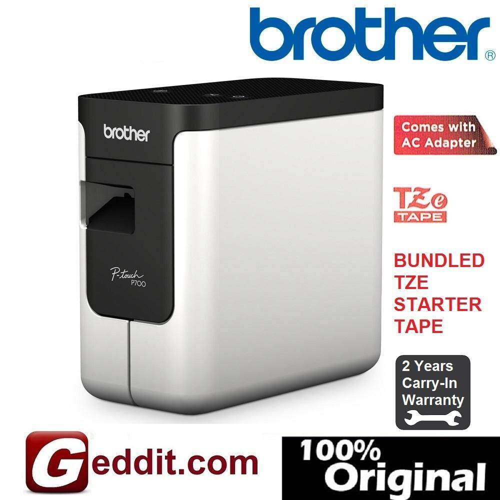 Brother Pt-P700 P-Touch Computer Label Maker 3.5mm~24mm P700 Ptp700 By Geddit Dot Com