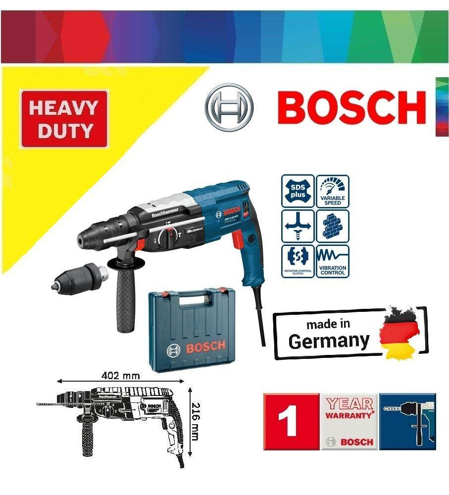 Bosch Gbh 2-28 Dfv 28mm Sds-Plus Rotary Hammer, Rotary Hammer By My Power Tools.