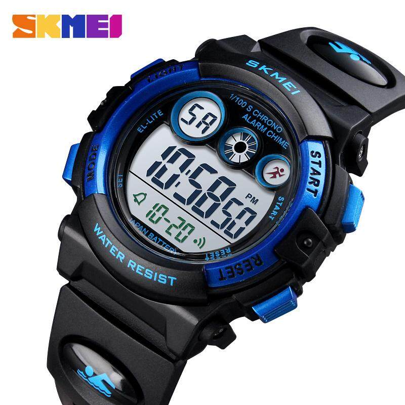 Dependable New Skmei Famous Brand Outdoor Sports Children Watch Kids Watches Boys Girls Led Digital Wristwatches Waterproof Kid Watch Clock Children's Watches