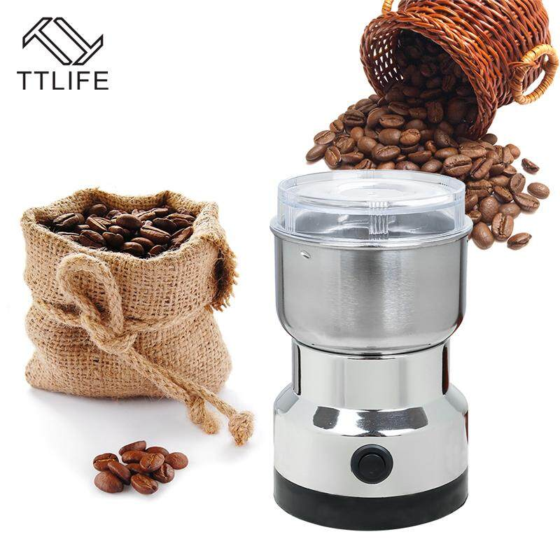 Ttlife Stainless Steel Intelligent Electric Coffee Beans Nuts Grinder Household Electric Coffee Grinder Machine Coffee Miller Kitchenappliances By Ttlife Kitchen Store.
