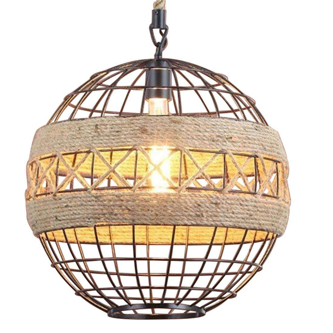 Home Ceiling Lights Buy At Best Price In Room Cage Light Vintage Retro On Wiring Led Country Rope Industrial Wind Chandelier Internet Cafe Restaurant Bar Ball Personalized Lamps