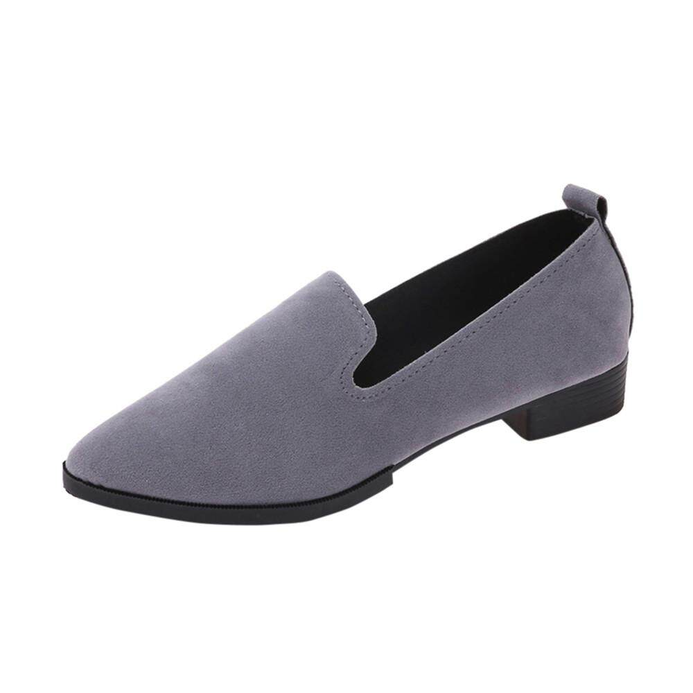abcc28e93630 2019 GG Appealing Women Ladies Slip On Flat Sandals Casual Shoes Solid Fashion  Loafer