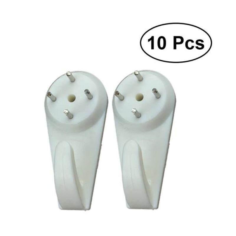 10pcs Seamless Nails Optional Painting Frame Invisible Hanger Seamless Hooks Nail Wall Seamless Photo Frame Nails