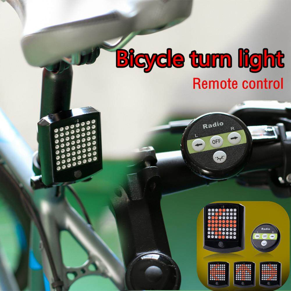 Bike Rear Tail Light Turn Signal Wireless Remote Control New By Dakeres.