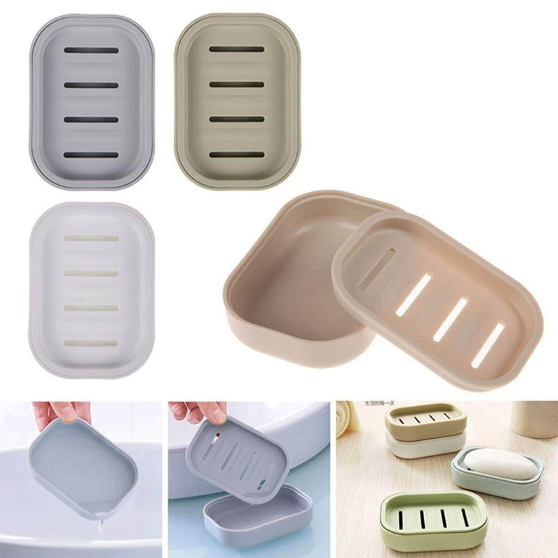 Graceful Soap Dispenser Dish Case Holder Container Box For Bathroom Travel Carry Case By Graceful Bearing.