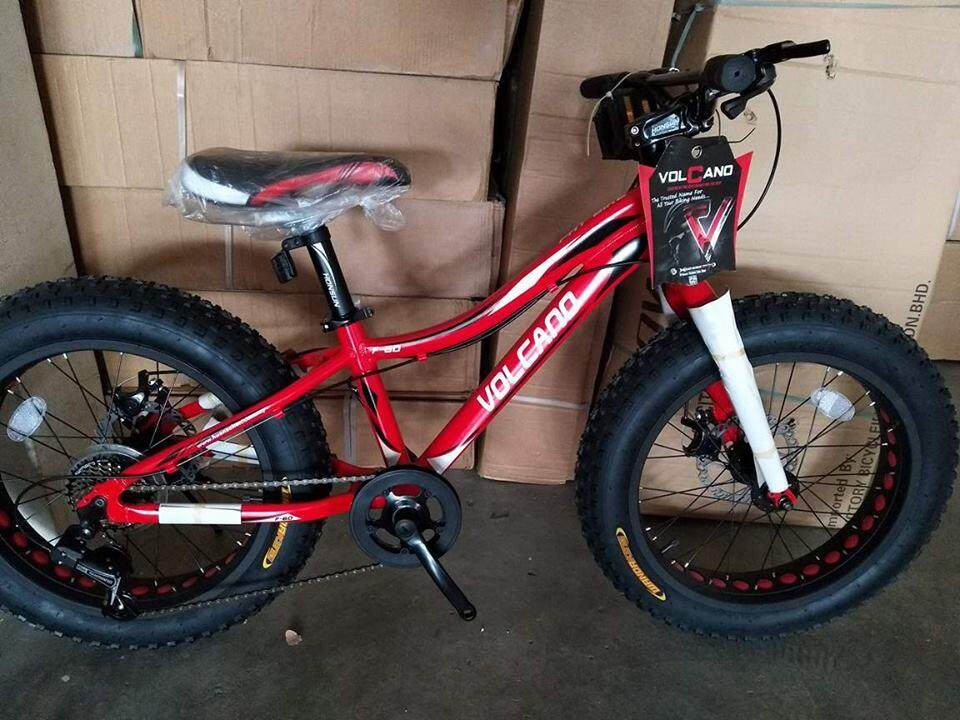 Ls 20 Fat Bike Volcano 7 Shimano Speed Alloy (complete Installation) By Ls Enterprise.