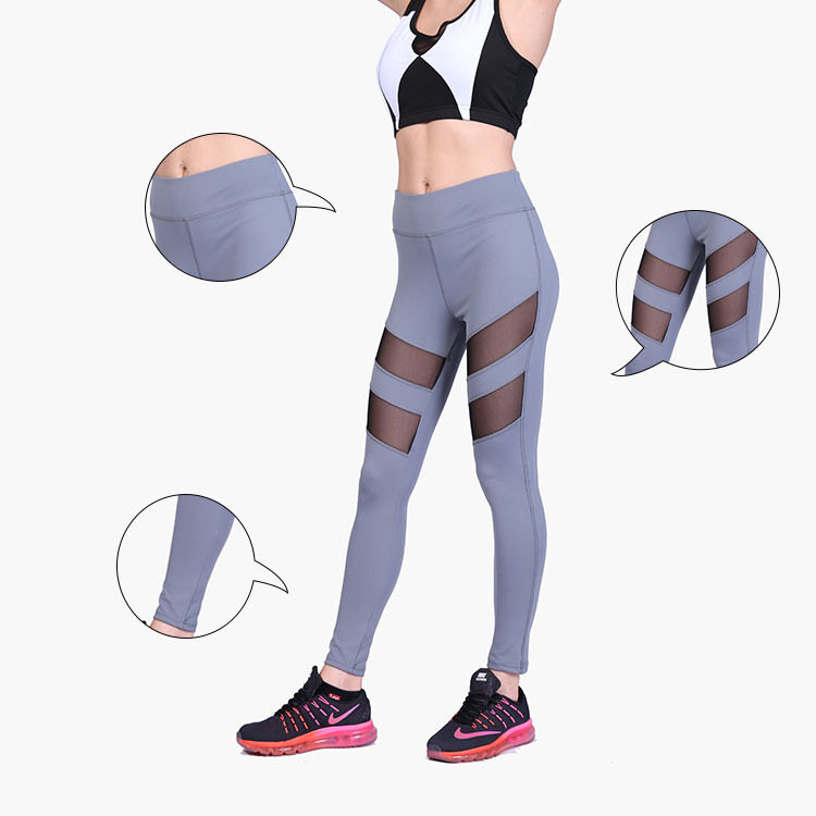 Wanjiamei Women Yoga Sports Pant Tights Female Sports