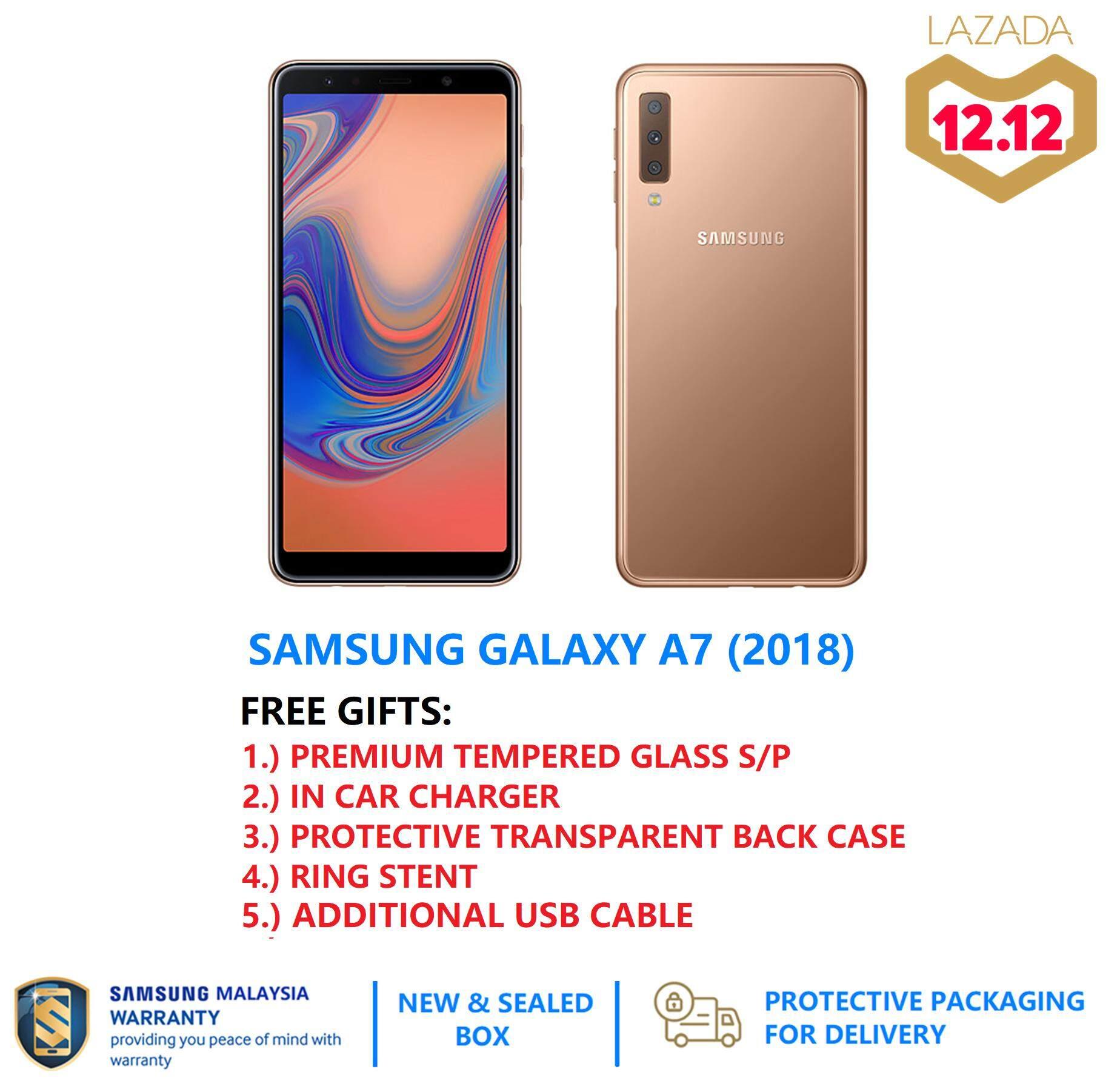 Grab Original Samsung Mobiles Tablets On Lazada My Galaxy J7 Lte 16gb Hitam Free Gifts A7 2018 3x Camera Lens 4gb