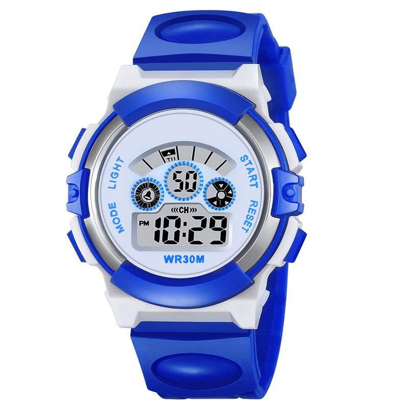 Sports Watch Children Waterproof Watch Luminous Student Table Multifunction Fashion Watch Malaysia