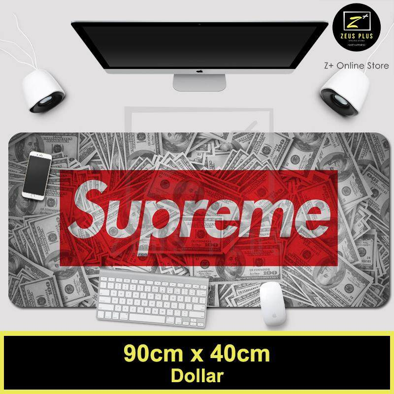 Z PLUS Supreme Large Gaming Thicken Desktop Keyboard Mouse Pad Laptop Accessory(Dollar) Malaysia
