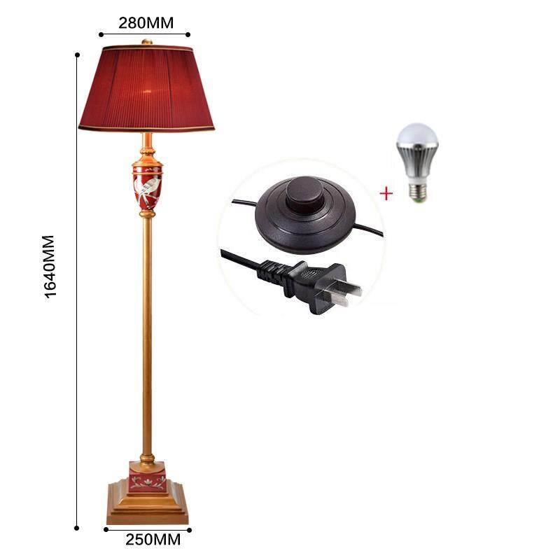 Bbd New European Style Living Room Resin Floor Lamp Bedroom Bedside Study Alloy Floor Lamp By Babaduang.