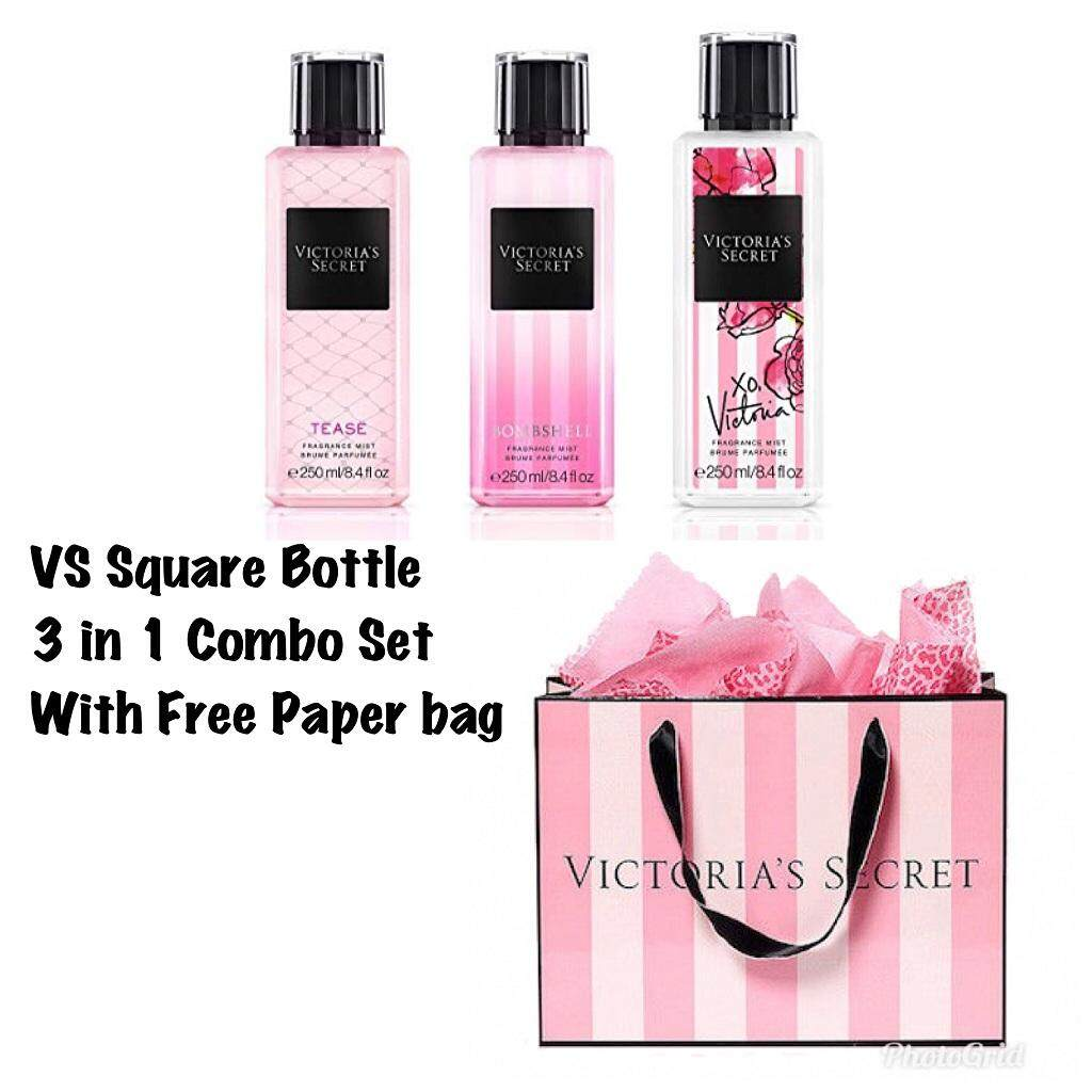2579af1f903f5 (FREE PAPERBAG) Tease,Bombshell and XO Victoria 3 in 1 Set