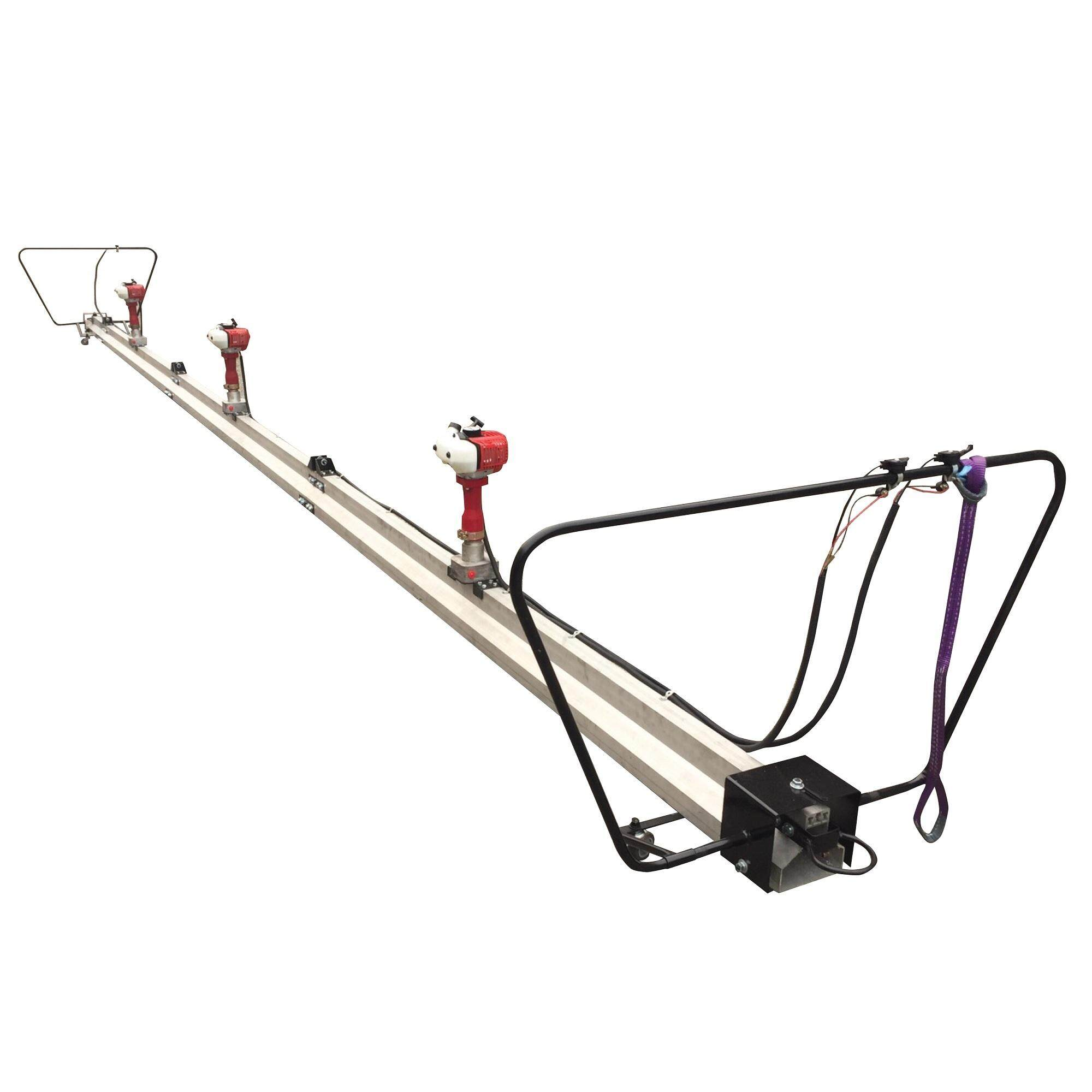 Triple Engine Power Screed Vibrator 30 Feet