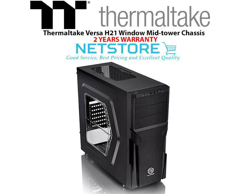 Thermaltake Versa H21 Window Mid-Tower Chassis PC Case CA-1B2-00M1WN-00 Malaysia