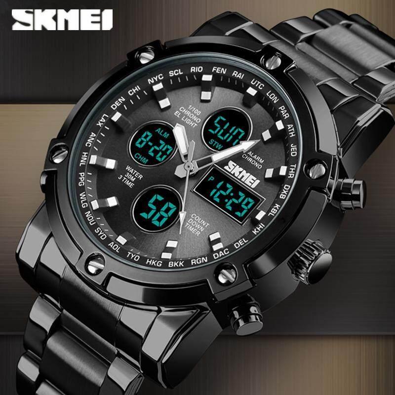 SKMEI Top Luxury Brand Sport Watches Men Fashion Casual Digital Quartz Wristwatches Male Military Clock Malaysia