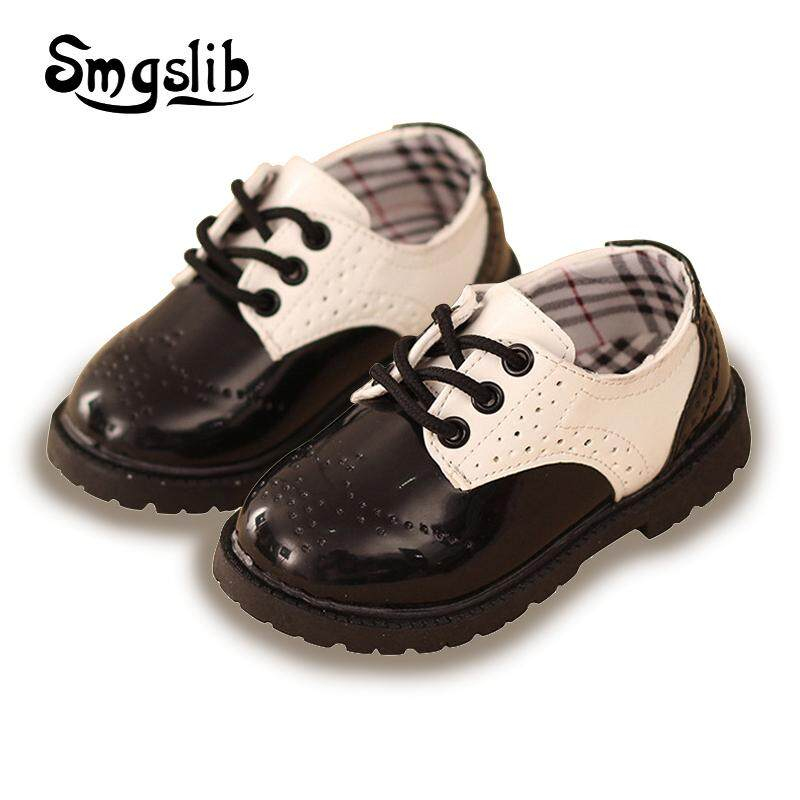 Kids Shoes Fashion Spring Autumn British Style Leather Loafers S Boys Wedding Flats Children