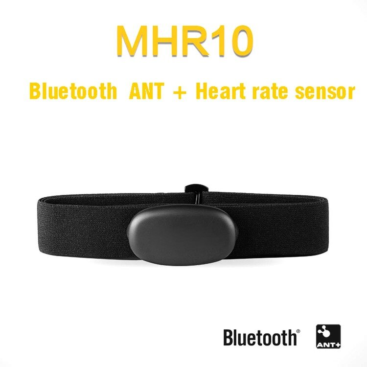 Magene MHR10 Dual Mode ANT /& Bluetooth 4.0 Heart Rate Sensor With Chest Strap