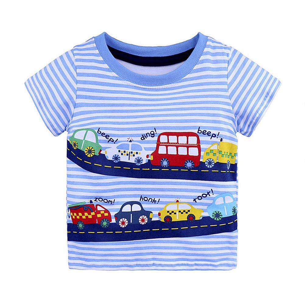 Mg [free Shopping] Cute Cartoon Printing Soft Cotton Short-Sleeve T-Shirt Birthday Festival Gift By Magic Cube Express.