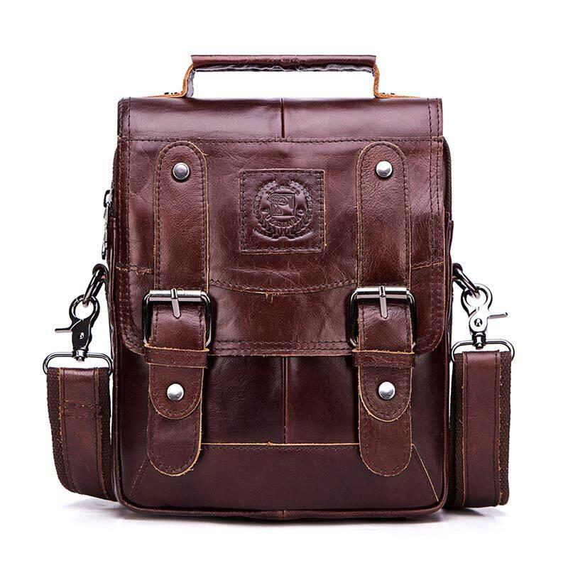 Genuine Leather Men Messenger Bag Hot Sale Male Small Man Fashion Crossbody Shoulder Bags Men's Travel