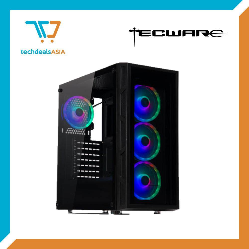 TECWARE VEGA TG ARGB ATX CASE (4 ARC RGB Fans Included) Malaysia