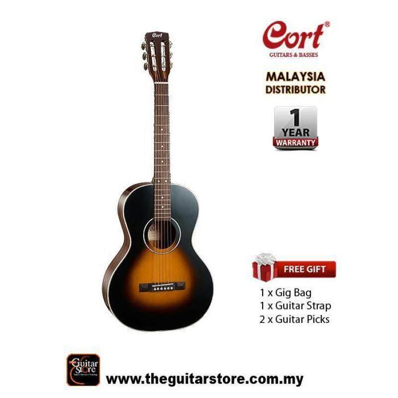 Cort AP550 Parlour Body Acoustic Guitar Malaysia