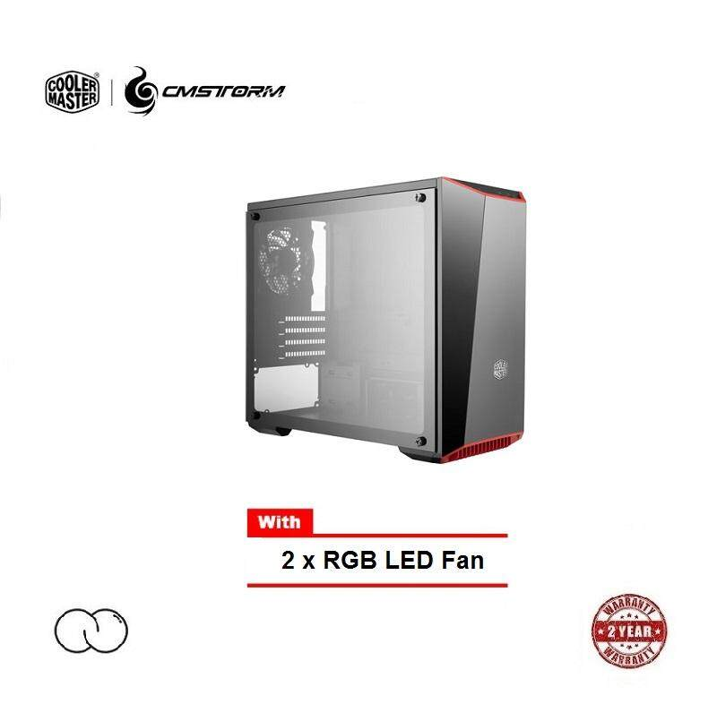 Cooler Master MasterBox Lite 3.1 TG (Side Panel Tempered Glass / with RGB Fan) Malaysia