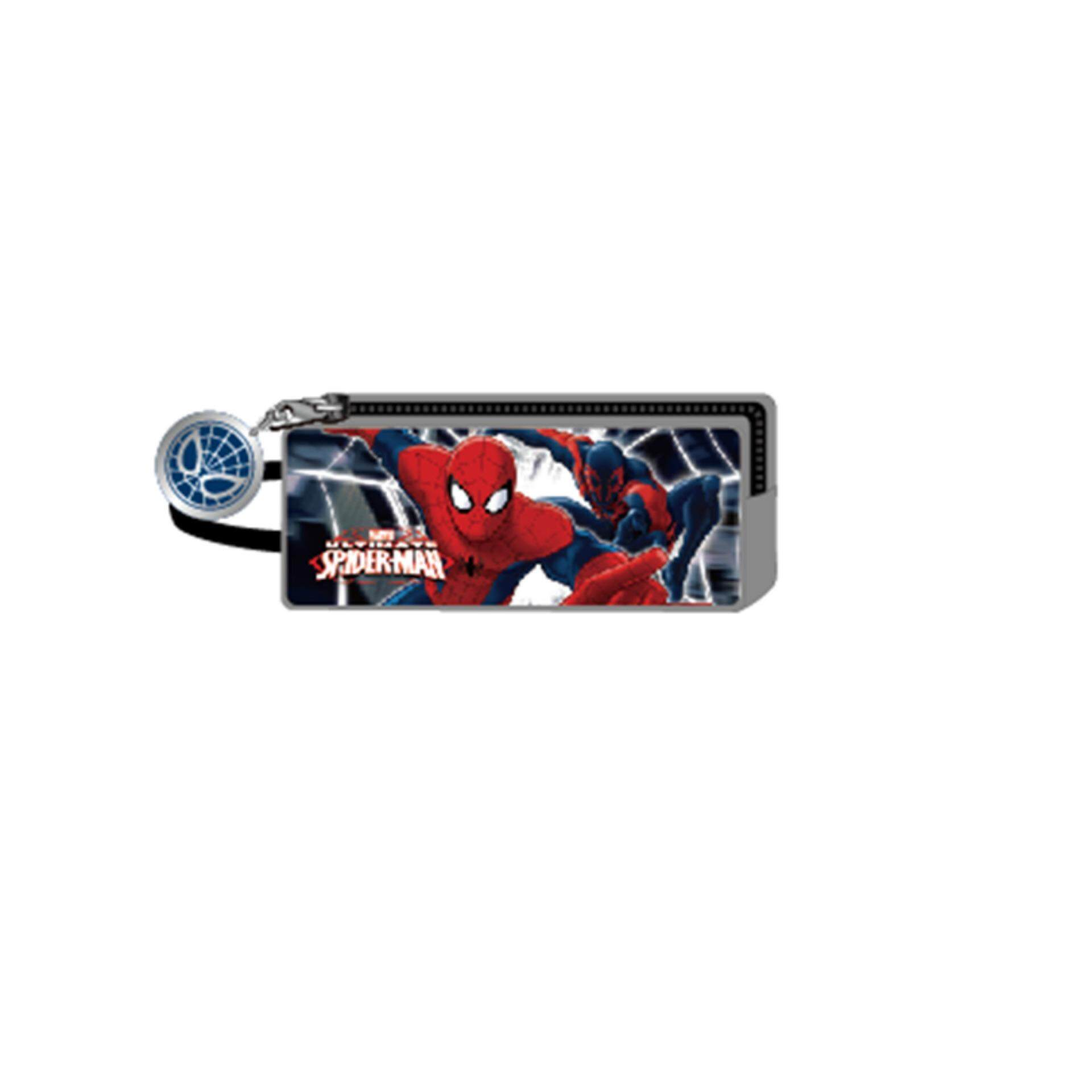 Marvel Buy At Best Price In Malaysia Katalig Baji Kaptem Amerika Spiderman Rectangular Pencil Pouch Grey Colour