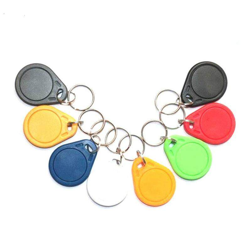 10Pcs/Pack PVC NFC Smart Card Tag S50 For IC 13.56 MHz Readable copy UID Key buckle IC card