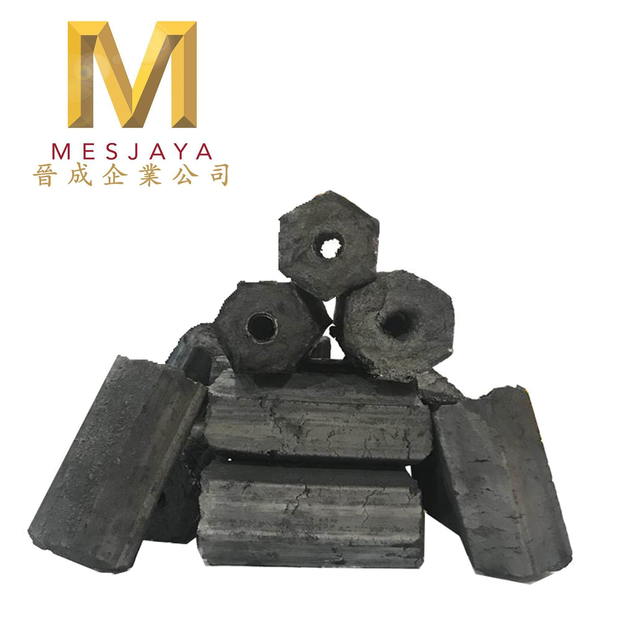 High Heat Long Lasting Sawdust BBQ Charcoal (10KG)