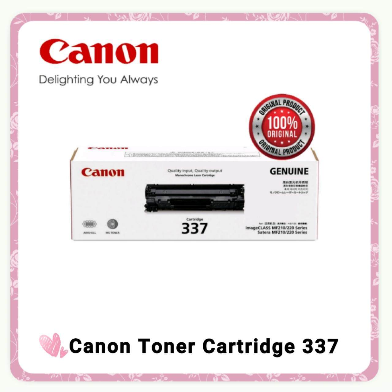 Canon Printers Accessories Price In Malaysia Best Print Head G1000 G2000 G3000 Color Original Genuine Cartridge 337 Black