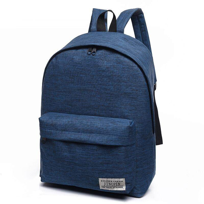 a08fdac56a ... Backpack men s backpack casual Korea large-capacity travel bag junior  high school students campus ...