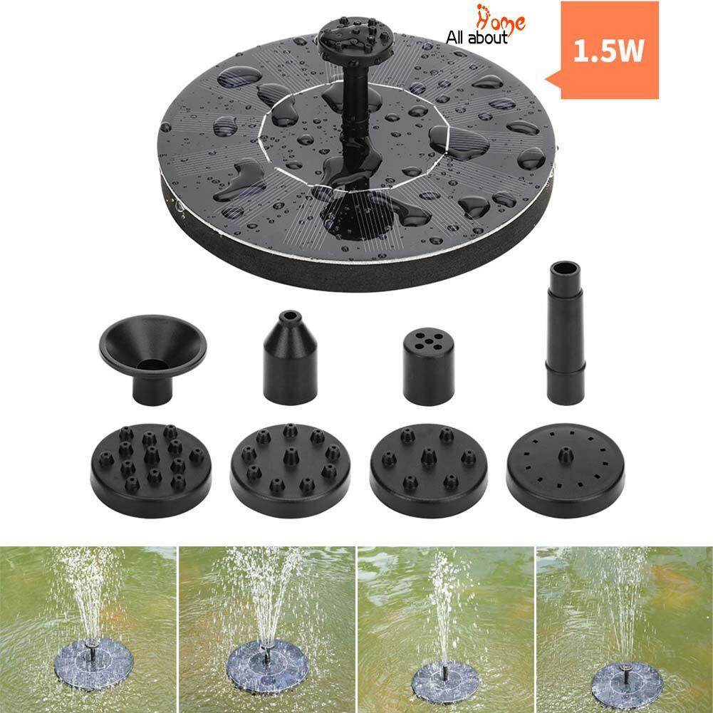 ABH Solar Power Fountain Kit Outdoor Watering Submersible Water Pump