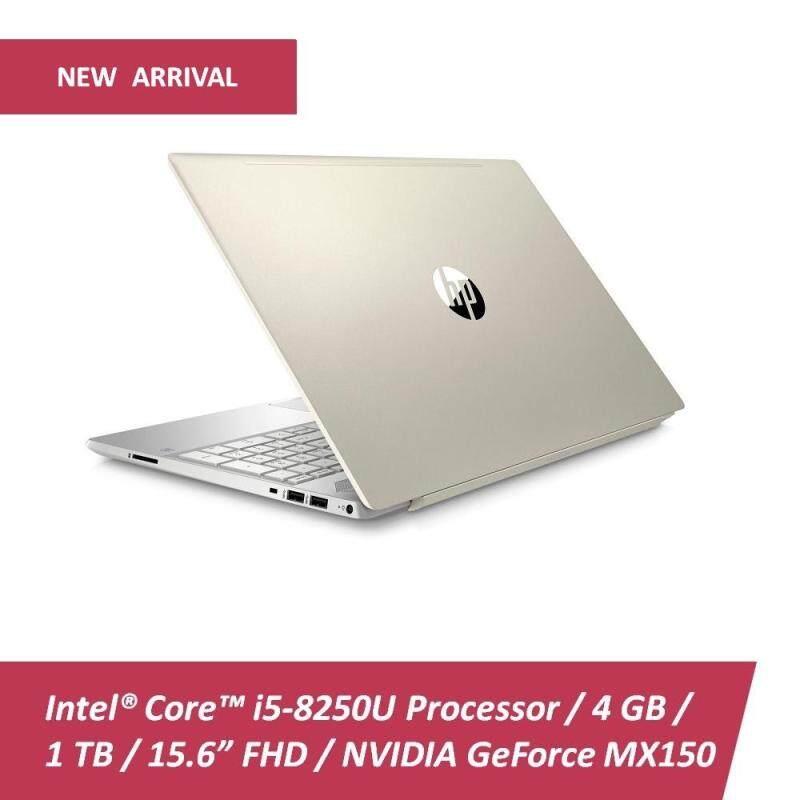 HP Pavilion 15-cs0033TX Laptop 15 i5-8250U  4GB  1TB  MX150 2GB  Win10  Gold - Free HP Backpack & X3000 Mouse Malaysia