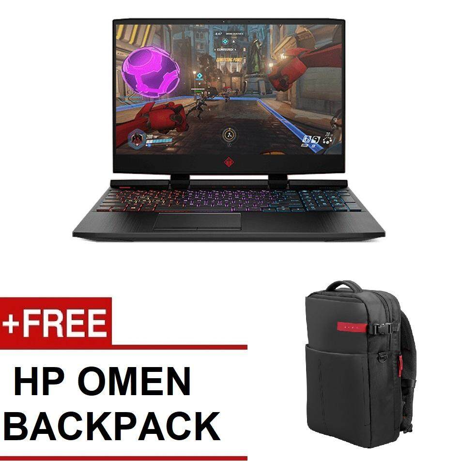 HP OMEN 15-DC0094TX GAMING NOTEBOOK (i7-8750H,8GB,1TB+128GB SSD,GTX1050 4GB,WIN10,2YEARS ON-SITE WARRANTY) FREE OMEN BACKPACK Malaysia