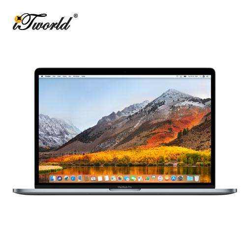 Pre-Order [2018] MacBook Pro 15-inch with Touch Bar MR932ZP/A (2.2GHz 6-core Intel Core i7 processor, 16GB Memory, 256GB Storage) - Space Grey Malaysia