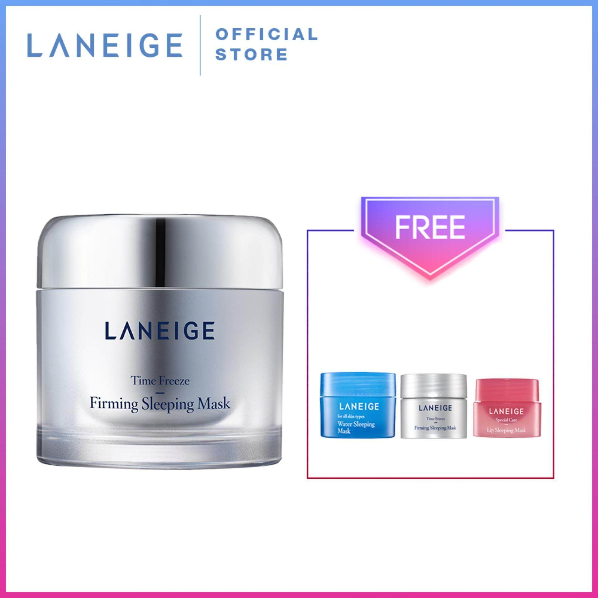 Sell 100 Ori Laneige Cheapest Best Quality My Store Water Sleeping Mask Sampel 4ml Myr 141 Time Freeze Firming
