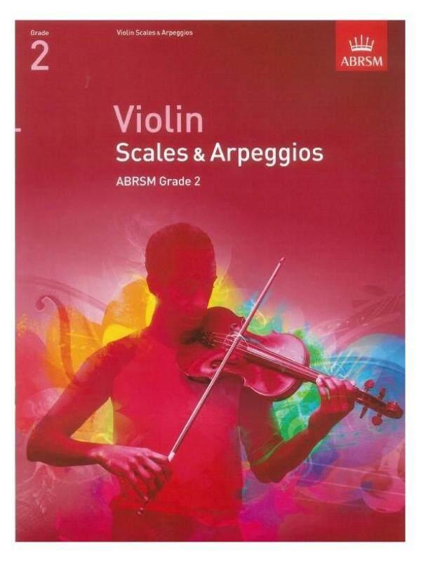 ABRSM Violin Scales & Arpeggios Grade 2 from 2012 Malaysia