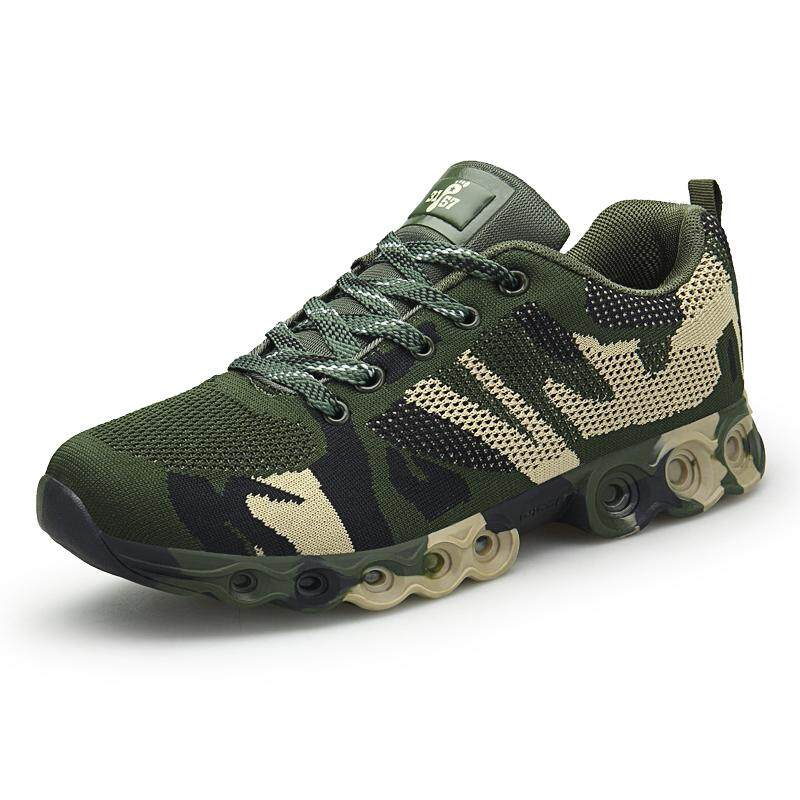 online store c3b37 3b779 Summer Fly Weave Camouflage slip on shoes men high quality comfort shoes  light air mesh casual